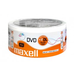 MAXELL DVD+R Double Layer, 8.5GB/240min, 8x speed, printable, Cake 25