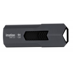 IMATION USB Flash Drive Iron KR03020023, 64GB, USB 3.0, γκρι